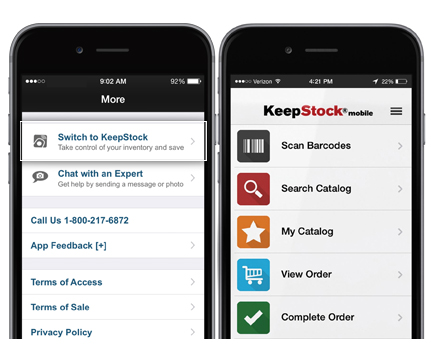 Grainger Mobile Keepstock