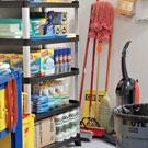 Janitorial Closet Organization