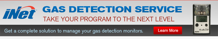 iNet Gas Detection Service - Learn More