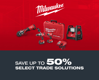 Milwawkee. Save up to 50% select trade solutions. Offer Ends 6-30-2017