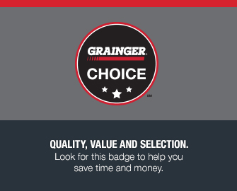 Quality, Value and Selection - Look for this badge to help you save time and money