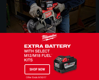 Extra Battery With Select M12/M18 FUEL KITS