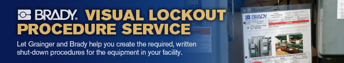 Brady Visual Lockout Proecedure Service