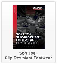 Soft Toe, Slip Resistant Footwear
