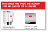 Hand Dryers - Go Green Fact Sheet