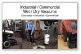 Industrial & Commercial Wet/Dry Vacs Fact Sheet
