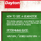 Selecting the Right Gearmotor Infographic