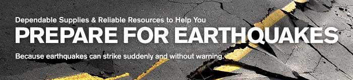 Prepare for Earthquakes