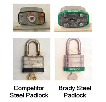 Steel Padlock Corrosion test