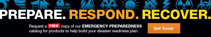 Order Your Free Emergency Preparedness Catalog