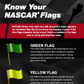 Know Your NASCAR Flags