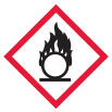 Flame over Circle Hazard Symbol