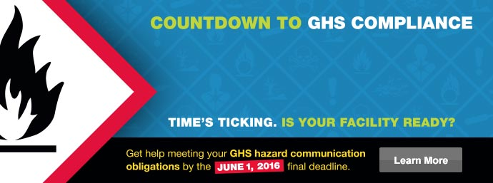 Countdown to GHS Compliance
