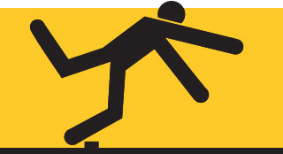 According To The Bureau Of Labor Statistics BLS Slips Trips And Falls Accounted For 163 All Fatal Occupational Injuries In 2016