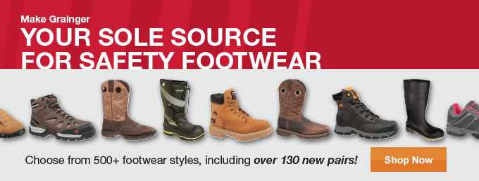 Your Sole Source For Safety Footwear