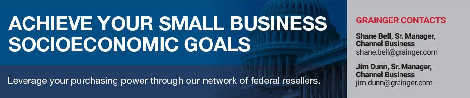 ACHIEVE YOUR SMALL BUSINESS SOCIOECONOMIC GOALS