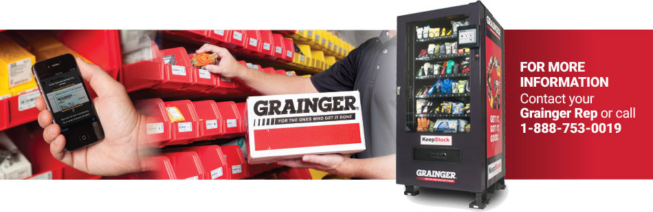 For More Information Contact your Grainger Rep or call 1-888-753-0019