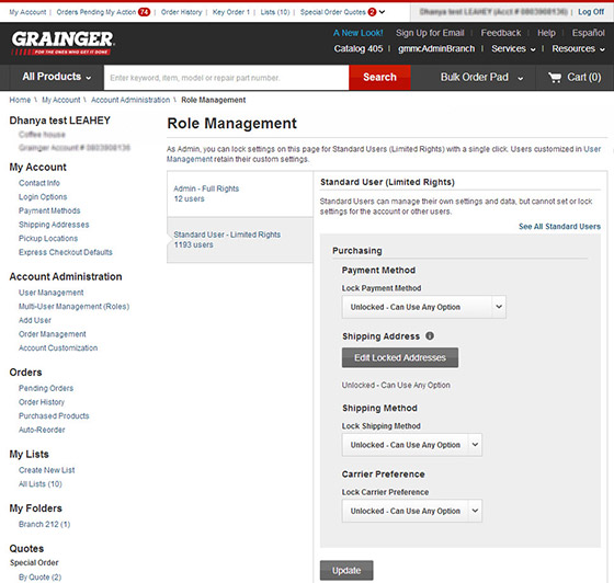 Knowhow Care Plan >> Multi-User Management - Grainger Industrial Supply