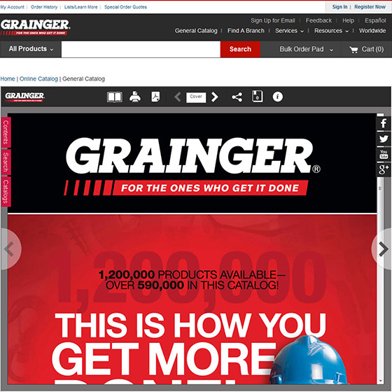 Grainger Online Catalog - Grainger Industrial Supply