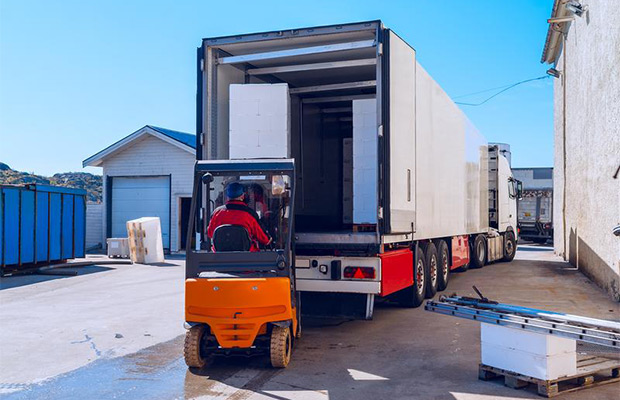 Drive-Through Loading Dock Application Increases Food Safety