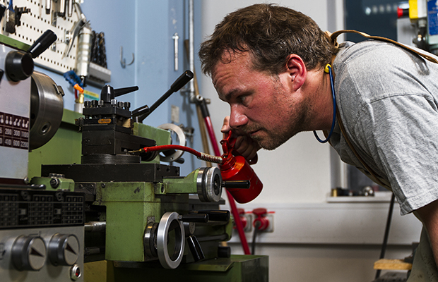 Lubrication Strategy for Preventive Machine Maintenance