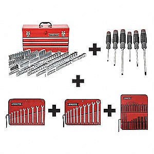 Master Tool Set,General Purpose,205 pcs.