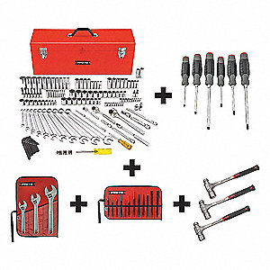 SAE Master Tool Set, Number of Pieces: 148, Primary Application: General Purpose
