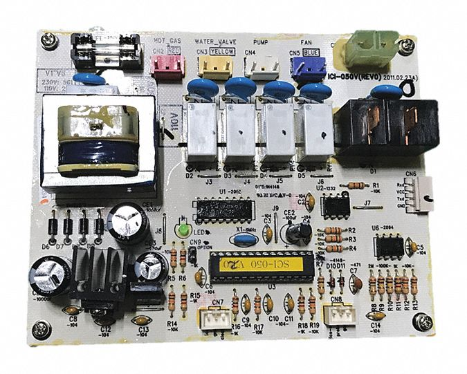 PCB Assembly,  For Use With Grainger Item Number 44R215, 44R216,  Fits Brand Jet Ice