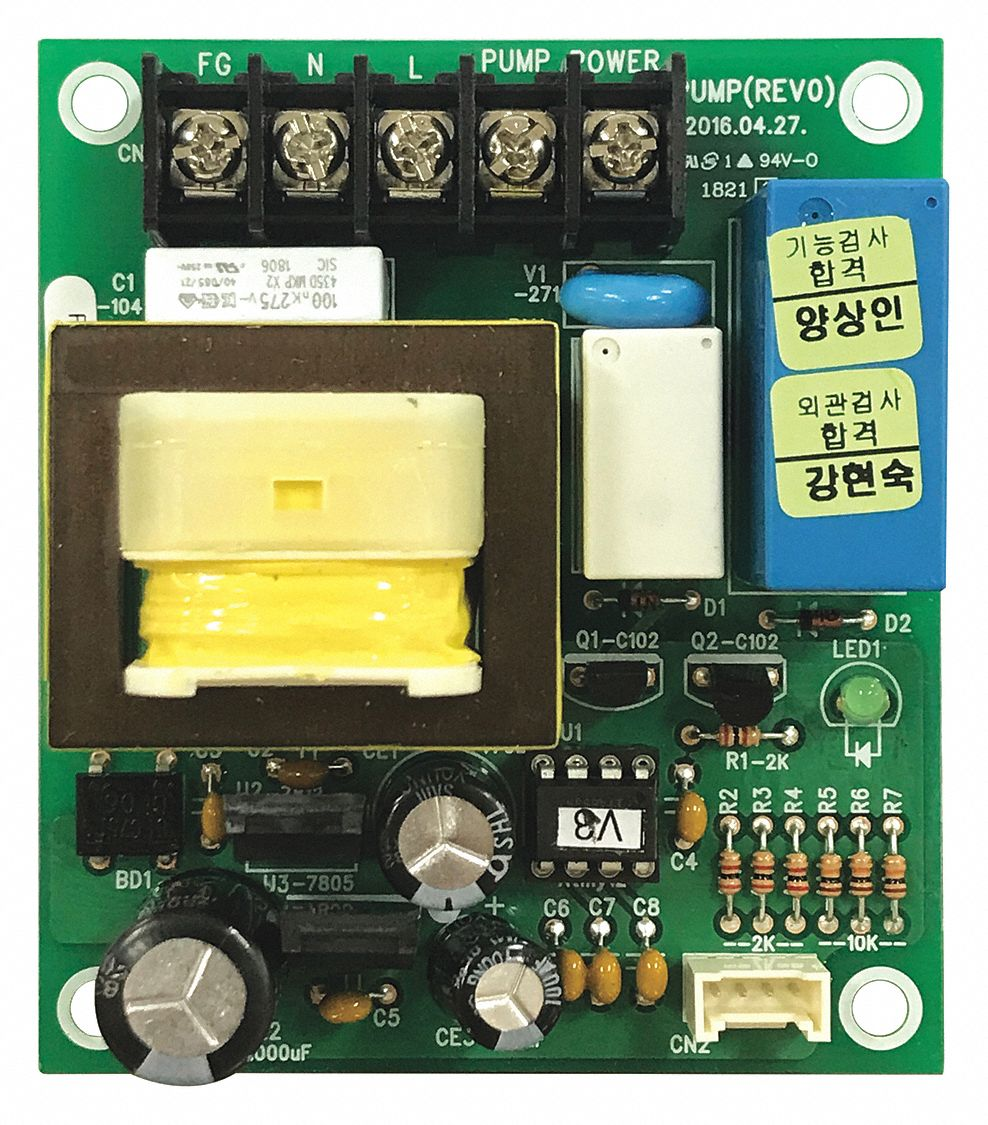 Pump Assembly PCB,  For Use With Grainger Item Number 44R214,  Fits Brand Jet Ice