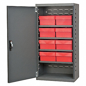 "Bin Cabinet, 38"" Overall Height, 19-1/4"" Overall Width"
