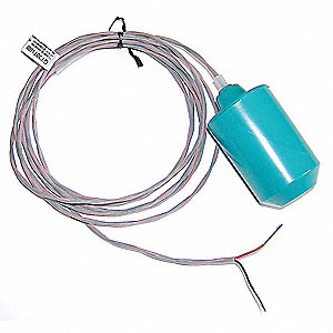 Tether, High Temperature Float Switch, Mechanical, Normally Open Switch Type