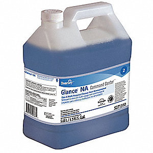 Glass Cleaner,5.68L,Blue,PK2