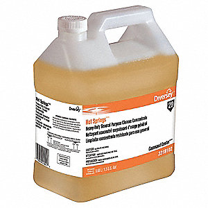 Heavy-Duty All Purpose Cleaner, 1.50 gal. Jug, Unscented Liquid, 1:64, 2 PK