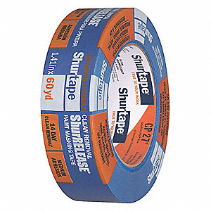 Masking Tape, 55m x 36mm, Blue, 5.3 mil