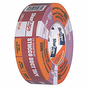 Industrial Duct Tape, 48mm X 55m, 9.00 mil Thick, Red Cloth, 1 EA