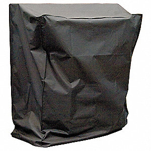 Protective Cover, Black Vinyl,For Use With 24HP, Mfr. No. PAC2K24HPVS