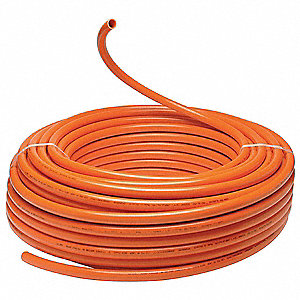 PEX Tubing,Orange,3/4 in,300 ft,80 psi