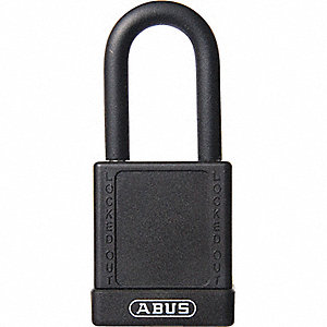 SAFETY PADLOCK W/ 1 1/2IN SHACKLE