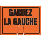 AFFICHE P/BALISE GARDEZ LA GCHE