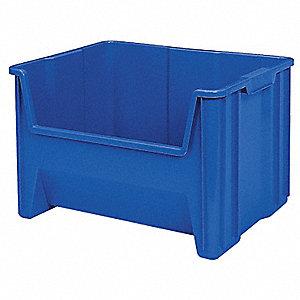 BIN STACKSTORE 15-1/4X19-7/8 BLUE