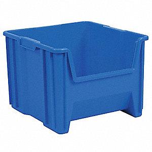BIN STACKSTORE 17-1/2X16-1/2 BLUE