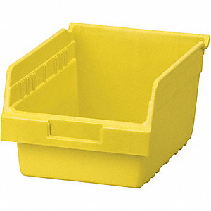 BIN SHELF YELLOW 11 5/8 X 8 3/8 X 6