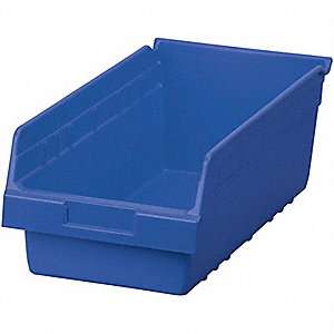BIN SHELF BLUE 17 7/8 X 8 3/8 X 6