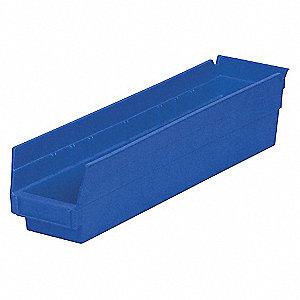 BIN SHELF 17.875 X 4.125 X 4 BLUE