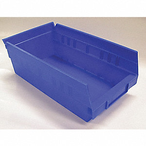 BIN SHELF 11.625 X 6.625 X 4 BLUE