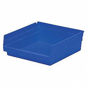 BIN SHELF 11.625 X 11.125 X 4 BLUE