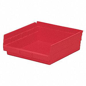 BIN SHELF 11.625 X 11.125 X 4 RED