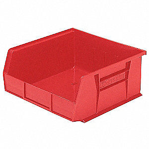 BIN HANGING HD 10.875X11X5 RED