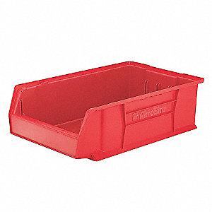 BIN AKRO SUPER-SZ 20X12-3/8X6IN RED