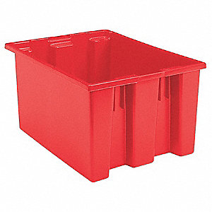 TOTE 23.5X19.5X13 N.S.T. RED